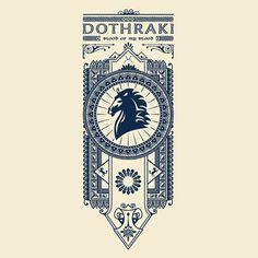"""""""Dothraki"""" design by Olipop"""