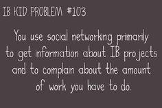 IB KID PROBLEMS : Photo