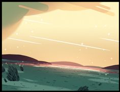 Some BGs I painted for Steven Universe's Laser Light...