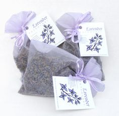 make your own simple lavender bud sachets - place all over you house in drawers and cupboards to keep home smelling fresh !