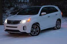 2014 Kia Sorento Family Review - great vehicle that can fit 3 car seats in front bench
