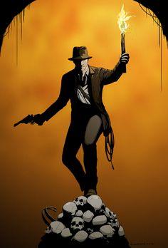 I for Indiana Jones by *doubleleaf on deviantART