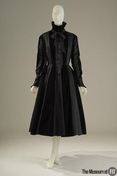 Another Balmain - a coat.  1948.  Museum at FIT.  (you should know my sources by now.  ;P)