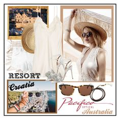 """""""Summer Resort Style with Pacifico Optical"""" by carola-corana ❤ liked on Polyvore featuring Dolce&Gabbana, Flora Bella, La Perla, Aquazzura and pacificooptical"""
