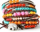 colorful bracelet is cute too!.