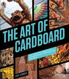 Breathe new life into that old cardboard box! Though paper and cardboard seem common and humble materials, discover the totally unexpected, beautiful and intricate art that can be created using the re