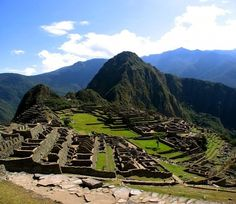 """""""Old Peak"""" - Machu Picchu in Peru"""