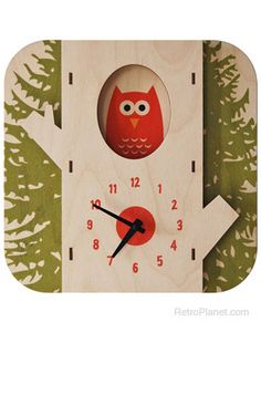 TREE OWL CLOCK from UncommonGoods. Shop more products from UncommonGoods on Wanelo. Owl Clock, 3d Wall Clock, Wall Art, Wall Desk, Alarm Clock, Cute Clock, Clock For Kids, Kids Clocks, Owl Always Love You