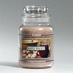 Maple Walnut : Large Jar Candle : Yankee Candle
