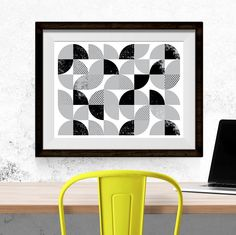 Scandinavian Gift Geometric Prints Scandinavian Art Ideas Printable Art Home Decor Wall Decor Mint Prints Instant Download