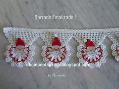 "WORKSHOP OF BARRED: Croche - PAP for a new ""Noel"" Barrado Beautiful work!"