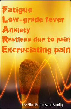 Fibromyalgia F.l.a.r.e. I get low grade fevers at night bi-weekly