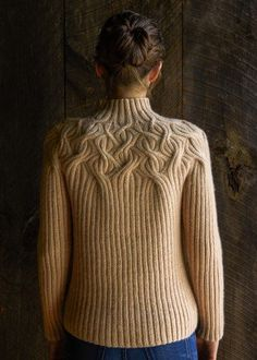 Botanical Yoke Pullover | Purl Soho - Create