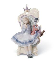 Lladro - Alice in Wonderland - Issued 2009.  $700.00