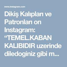 """Dikiş Kalıpları ve Patronları on Instagram: """"TEMEL.KABAN KALIBIDIR uzerinde diledoginiz gibi modelleme yapabilirsiniz. #sonbaharkış #FallWinter #kaban kalıbı S, M, L…"""" • Instagram"""