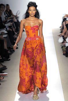 Peter Som Spring 2009 Ready-to-Wear Fashion Show - Lakshmi Menon