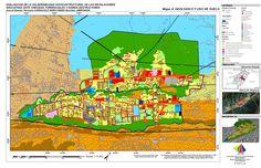 Mapa de uso actual de suelo y geología en la parroquia Carraciolo Parra Perez, Mérida Venezuela, 2013