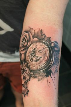 Pocket watch.  Proudly sponsored by Body Shock tattoo supplies.