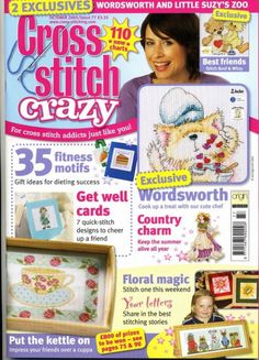 Gallery.ru / Фото #1 - Cross Stitch Crazy 131 - WhiteAngel