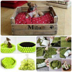 DIY camas para mascotas