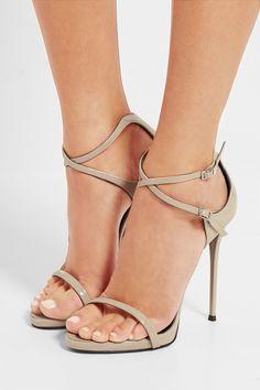 GIUSEPPE ZANOTTI Patent-leather sandals  €595.00 https://www.net-a-porter.com/product/741044
