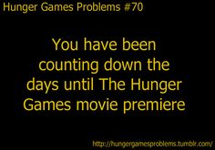 Hunger Games Problems :)