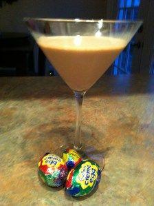Skinny Cadbury Egg Martini