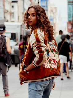 Floral Embroidered Bomber from Free People!
