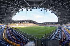 Estadio de Fútbol Arena Borisov, Borisov, Bielorrusia -  OFIS Architects - © Tomaz Gregoric