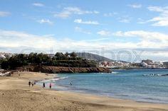 Kanaren, Spanien, Costa Adeje, Meer, Sand, Sommer, Urlaub, Reisen, Strand in Teneriffa | Stock-Foto | Colourbox on Colourbox, (c) HaKo - Photo