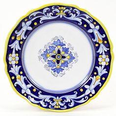 The largest assortment of Authentic Italian Ceramics in the USA Deruta Dinnerware - Italian Pottery - Tuscan Majolica - Italian Ceramics.
