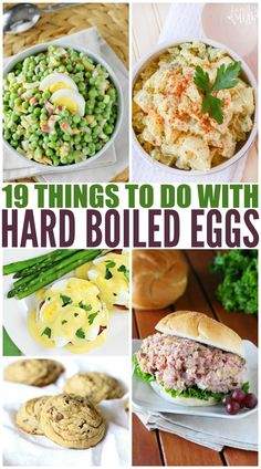 For Easter, we always have a ton of hard boiled eggs leftover. Here is a list of 19 Things to do With Leftover Hard Boiled Eggs. boiled Eggs Things to do With Leftover Hard Boiled Eggs Hard Boiled Egg Breakfast, Perfect Hard Boiled Eggs, Healthy Egg Recipes, Cooking Recipes, Easter Recipes, Cooking Ideas, Food Ideas, Meal Ideas, Delicious Recipes