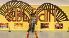 Last year at the Soul Train exhibit in Chicago. RIP, Don C.