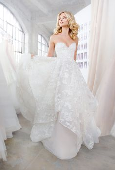Blush by Hayley Paige - Lulu Embroidered Floral Lace Wedding Dress at Haute Bride SF Bay Area    #weddingdress #hayleypaige #weddings #weddings #weddingday #bride #bridal