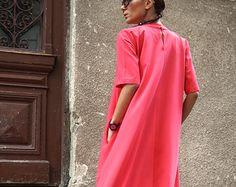 New  XXL,XXXL Maxi Dress / Watermelon Kaftan / Extravagant Long  Dress / Party Dress / Daywear Dress by AAKASHA A03137