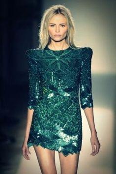 gorgeous emerald green for autumn  #planetbluefall