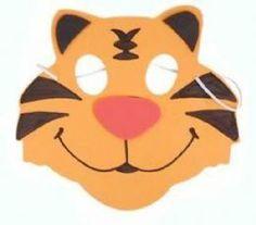 Buy Foam Tiger Mask | Only £0.99 | Fancy Dress Headgear Tiger Fancy Dress, Fancy Dress Masks, Fancy Dress Outfits, Navy Costume, Tiger Mask, Childrens Fancy Dress, Orange Party, Fancy Dress Accessories