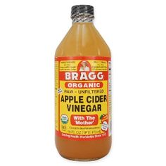 Braggs raw/live food apple cider vinegar benefits are endless. Drink: 1-3 tsp vinegar, fresh ginger, lemon, honey to taste and hot water! Burst of energy and vitality!
