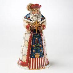 Jim Shore Figurines - Jim Shore - Polish Santa   Department 56 Villages, Free Shipping on Dept 56