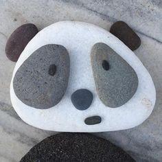 """Why are you so worried Amanda?"" . . #endangeredspecies #pebblezoo #pebbleart #characterdesign #panda #worldwildlifefund"