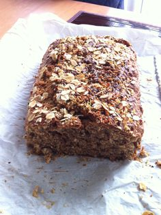 This breakfast loaf is absolutely loaded with healthy ingredients, so it's perfect to have first thing in the morning for a nutritious breakfast. It tastes so delicious and it's perfectly moist on ...