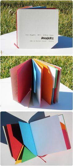Illegible Book, Bruno Munari