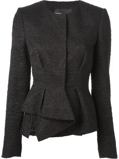 Shop Proenza Schouler peplum bouclé jacket in Excelsior Milano from the world's best independent boutiques at farfetch.com. Over 1000 designers from 300 boutiques in one website.
