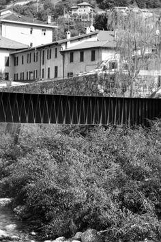 Mandello Lario (LC), Italia ponte pedonale ACT _ ROMEGIALLI