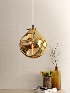 Bead Gold Pendant Light | Buy Luxury Hanging Lights Online India - Inspired by a soap bubble, the Bead Pendant Light has varying shape and transparency. The glass lampshade has a unique shape and iridescent tinge rendered by a metallisation process. The optical effects and visual appearance makes this lamp a stunning choice Room Lights, Hanging Lights, Wall Lights, Ceiling Lights, Luxury Lighting, Lighting Store, Outdoor Lighting, Decoration Lights For Home, Light Decorations