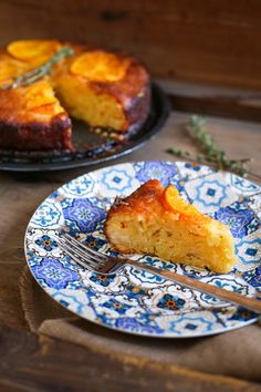 Portokalopita (Pastel de naranja griego) - El Sabor de lo Bueno
