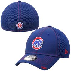 Chicago Cubs New Era Mascot Neo 39THIRTY Flex Hat - Royal Blue Red 5145e1ad942a