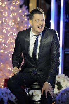 michael buble -- I vote Buble for christmas stud every year. Best music, coolest person.