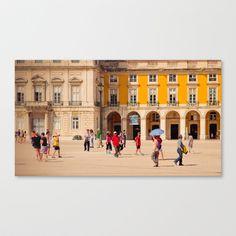 Place Canvas Print by Sébastien BOUVIER - $85.00 Framed Art, Framed Prints, Canvas Prints, Prints For Sale, Street View, Stretched Canvas, Building, Places, Travel