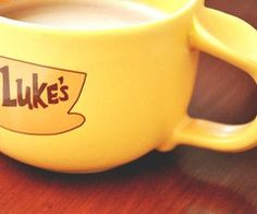How much would I pay for a Luke's coffee cup???? I really don't know. Best show ever. ;)